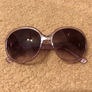 Authentic Betsey Johnson round sunglasses
